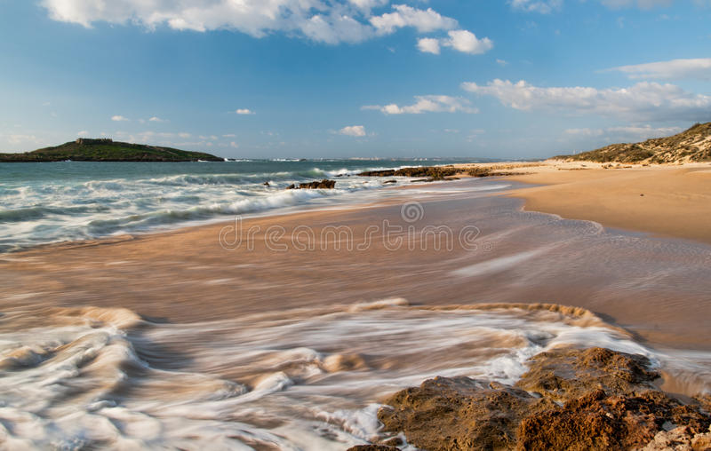 Download Seascape With Waves Breaking Stock Photo - Image: 23959694