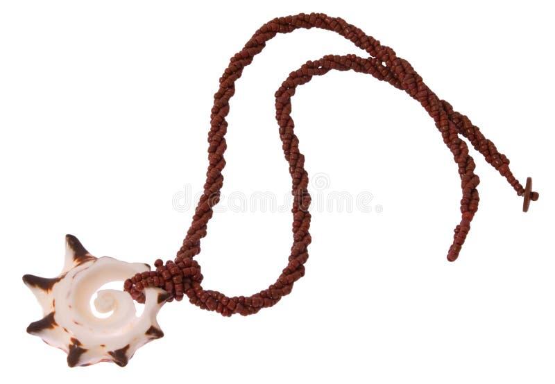 Seashell collar stock photos