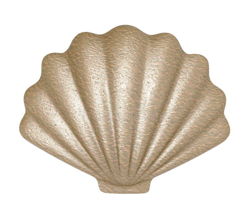 seashell ilustracja 3 d royalty ilustracja