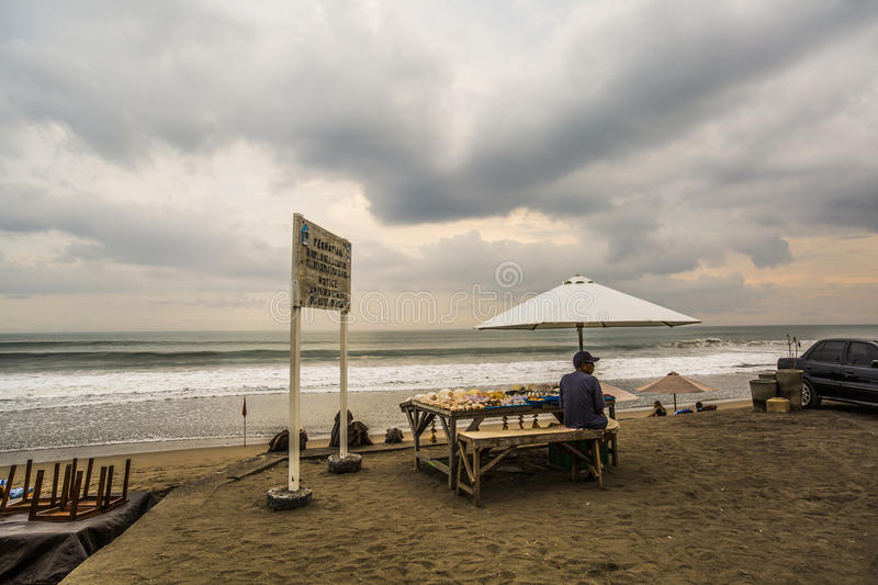 Download Seashell vendor in Bali editorial photography. Image of asian - 79658602
