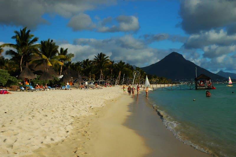 seashore Маврикия стоковое фото rf