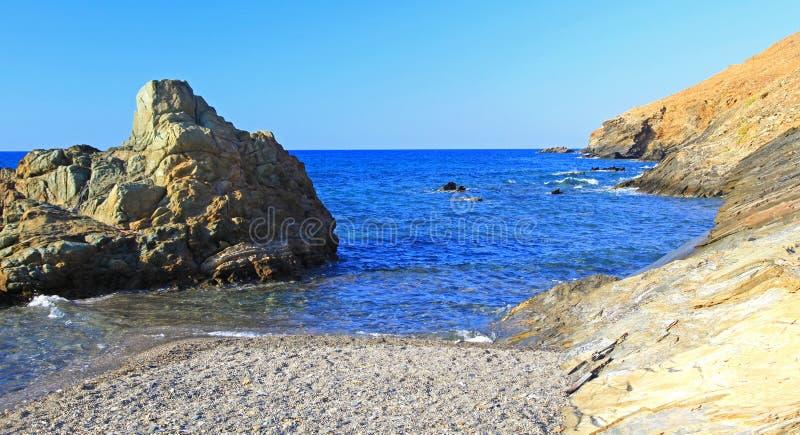 Download Seashore на Крите стоковое изображение. изображение насчитывающей coast - 33733145