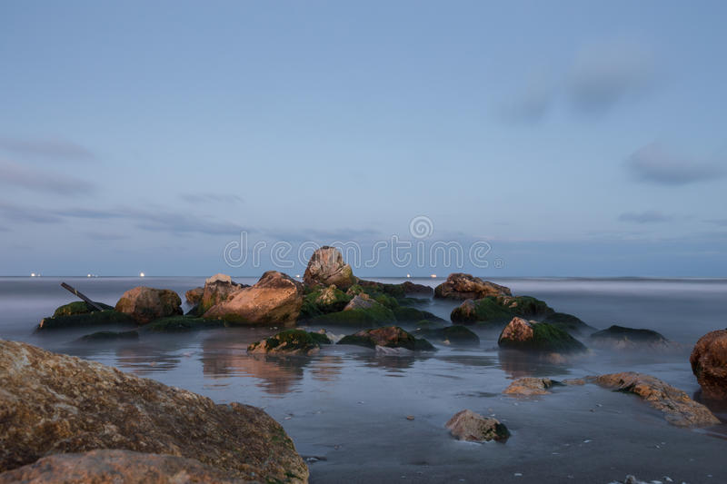 Seashore stock image