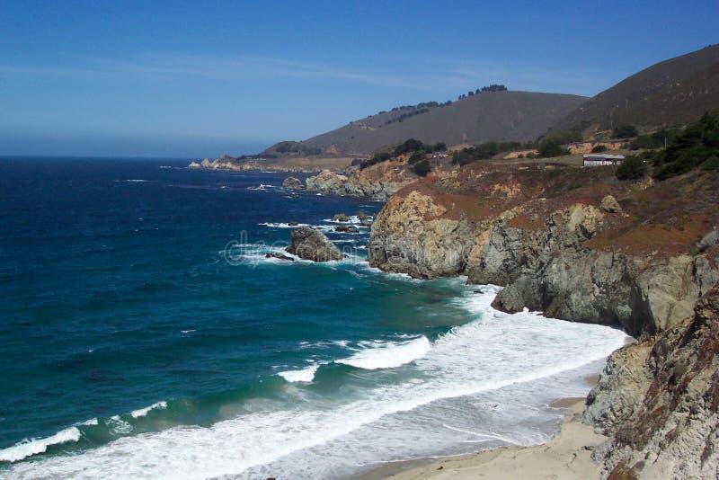 Seashore De Califórnia Fotos de Stock Royalty Free