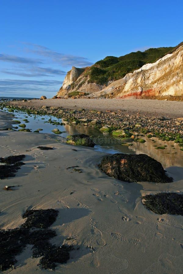 seashore klifu obrazy royalty free