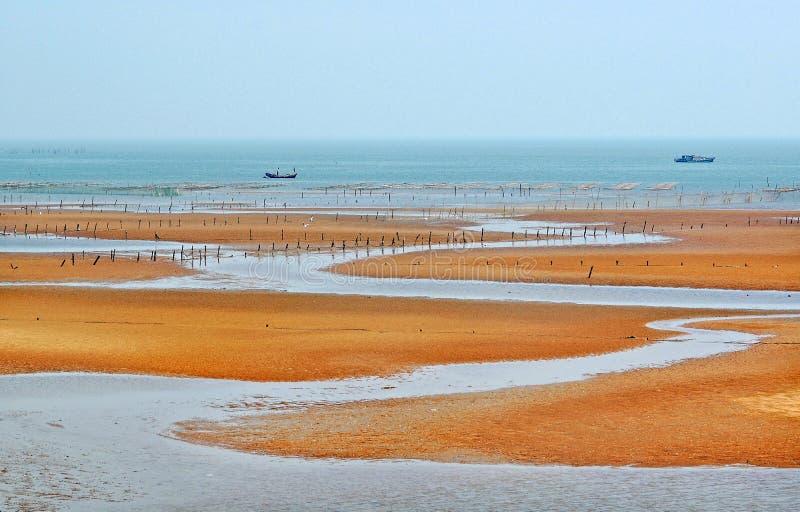 Seashore Of Liangyungang Of China Stock Photo