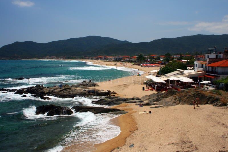 Download Seashore in sarti stock image. Image of mediterranean - 9822347