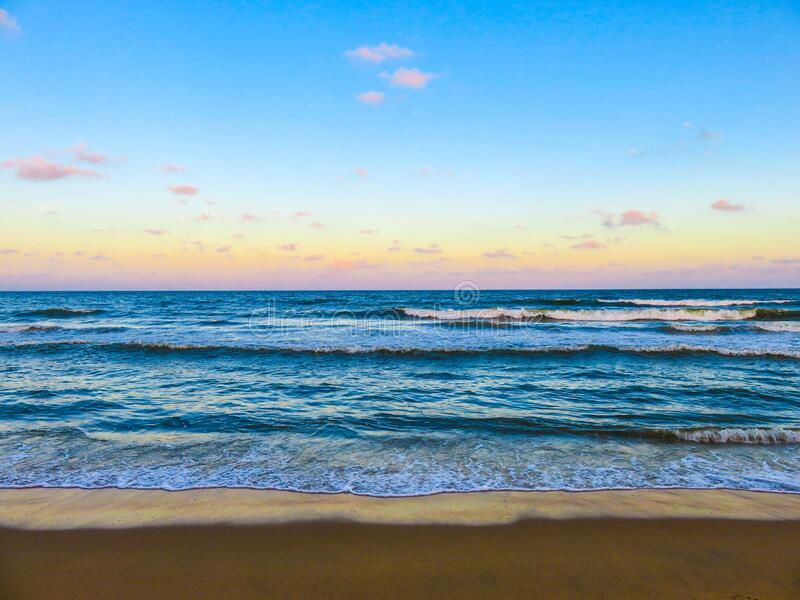Seashore With Sea Waves during Daytime stock photo