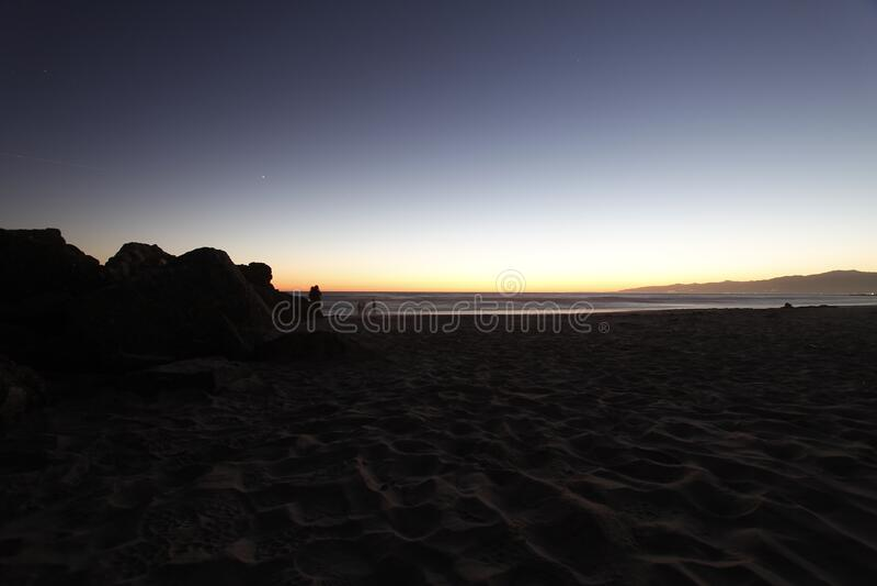 Seashore During Sunset Free Public Domain Cc0 Image