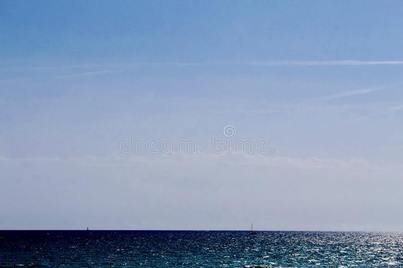 The Seaside Beautiful view royalty free stock photography