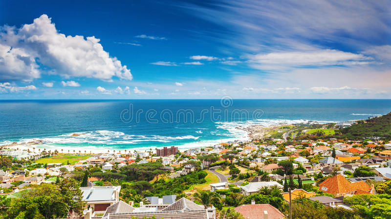Seaside of Cape Town stock photo