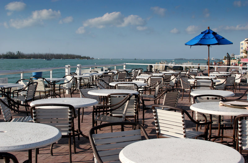 Download Seaside Dining stock photo. Image of tourism, tropical - 630336