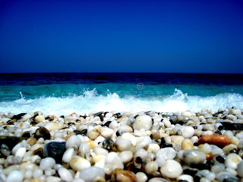 Seaside Greece stock photo