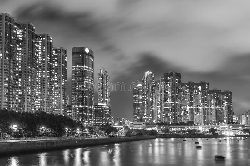 City skyline of Hong Kong royalty free stock images
