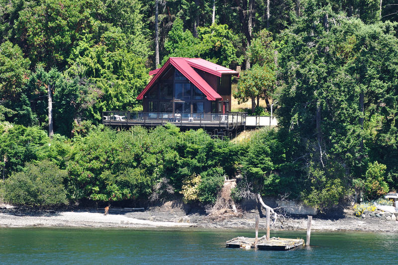 Seaside House Royalty Free Stock Image
