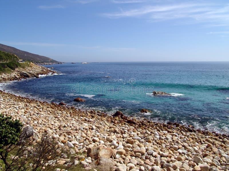 Seaside landscape royalty free stock images