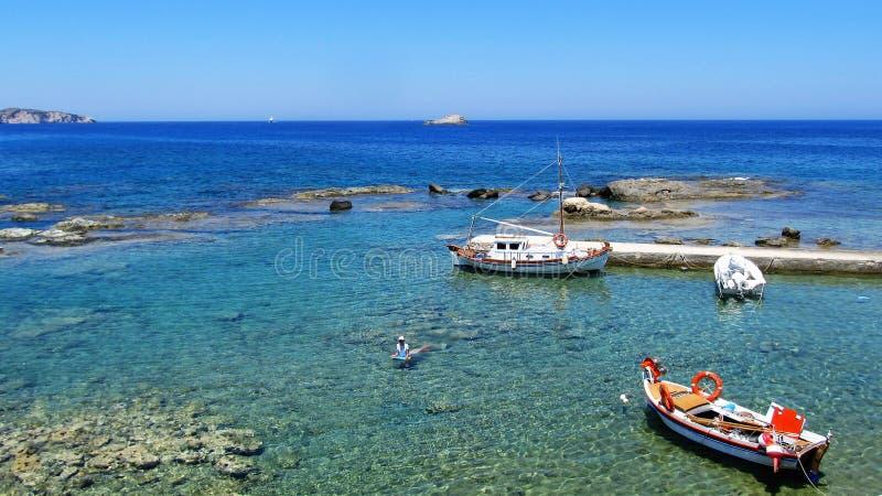 Seaside landscape royalty free stock photos