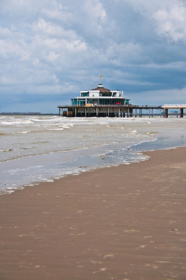 Download Seaside pier stock image. Image of picturesque, blue - 25208989