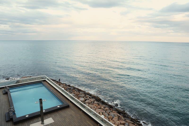 Seaside Pool Free Public Domain Cc0 Image