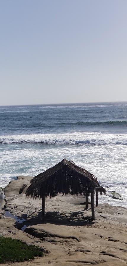Seaside Series - Pacific Ocean Waves stock image