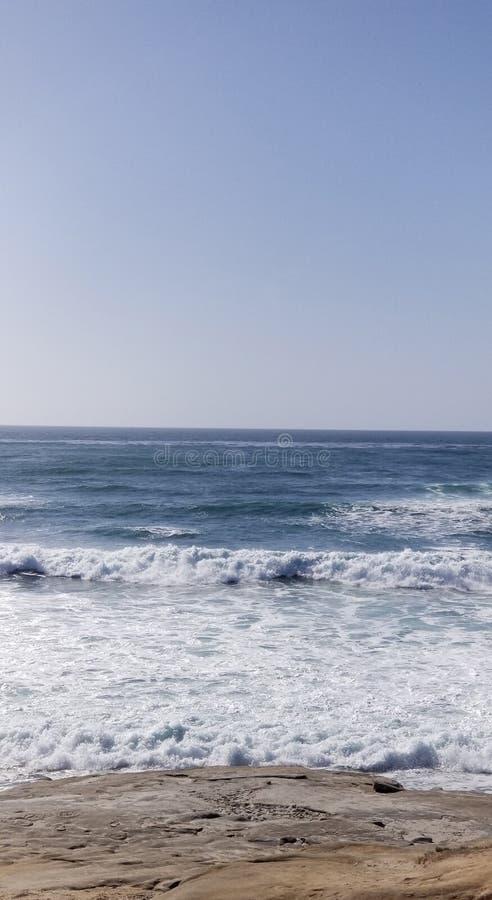 Seaside Series - Pacific Ocean Waves stock photos