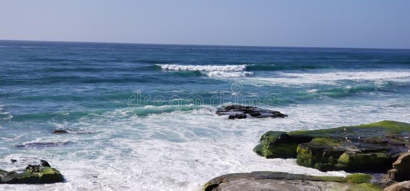Seaside Series - Pacific Ocean Waves royalty free stock photos