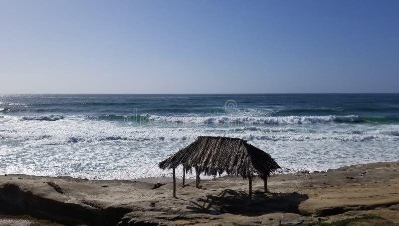 Seaside Series - Pacific Ocean Waves stock images