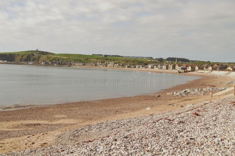 Seaside town royalty free stock photography