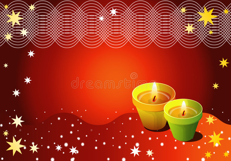 Download Season's Greeting stock illustration. Illustration of flower - 3388996