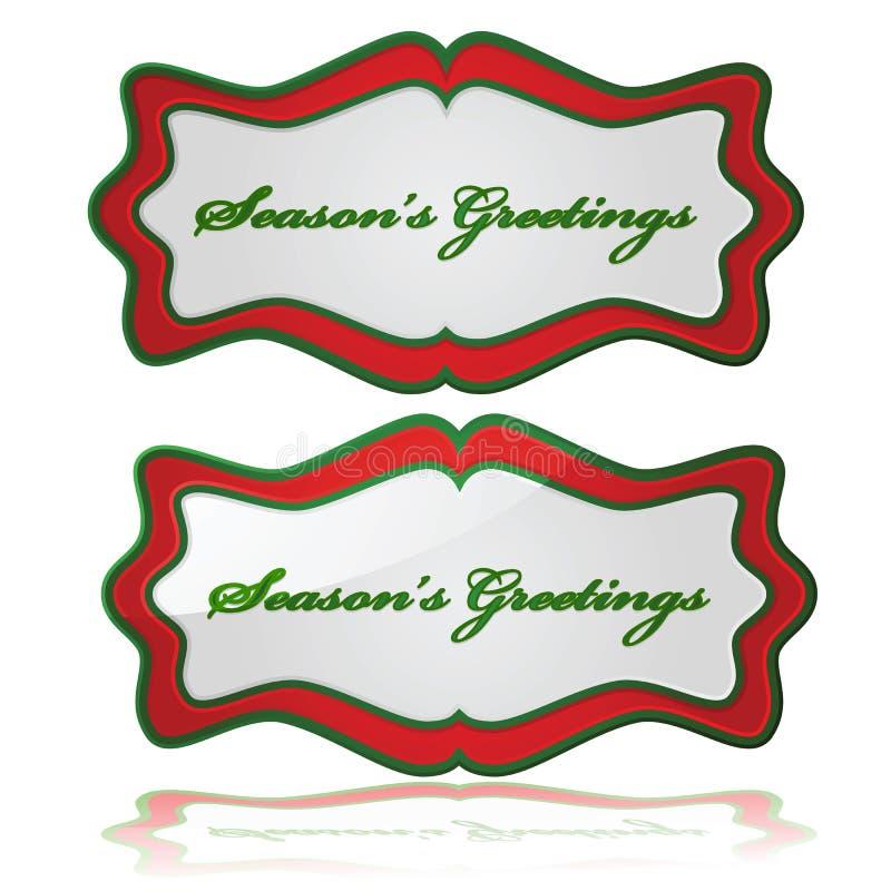 Seasons Greetings Stock Photo