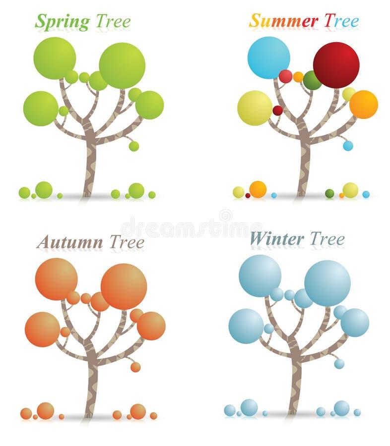 Download Season Tree's Stock Photo - Image: 26000000