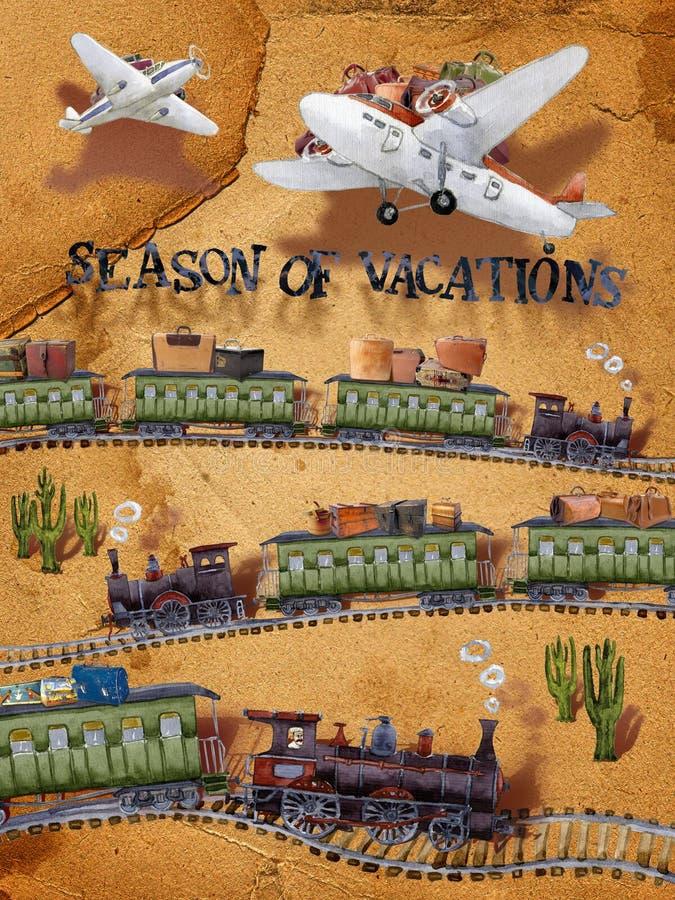 Season_of_vacation fotos de archivo