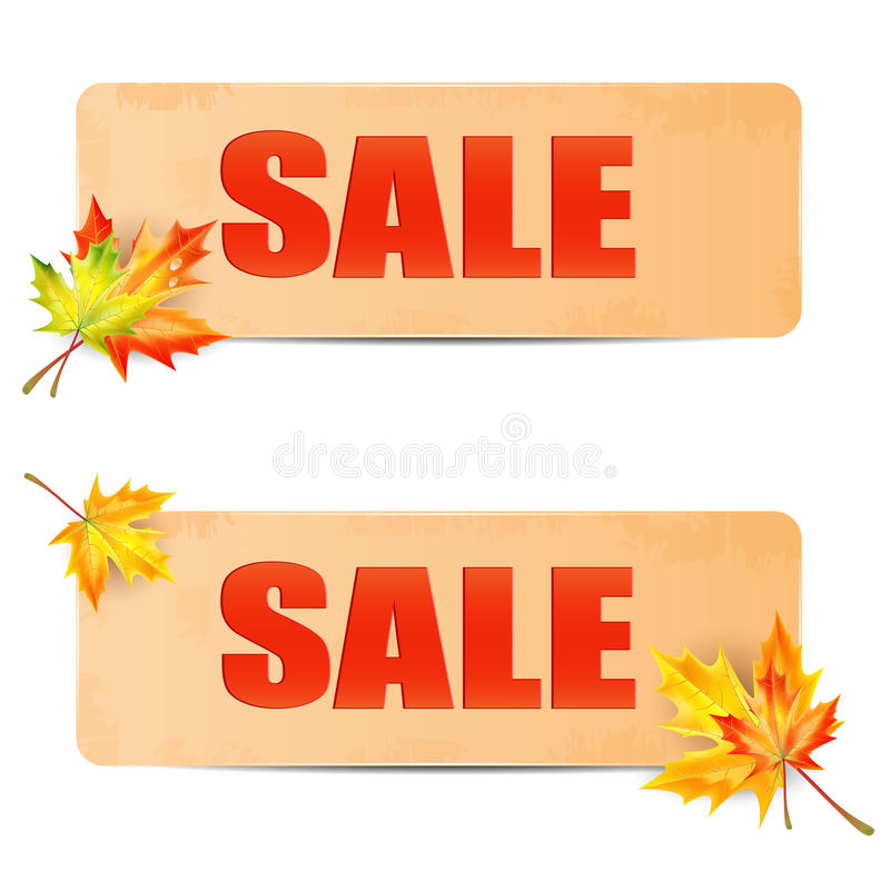 Download Seasonal autumn sale stock vector. Image of bouquet, fall - 33730187