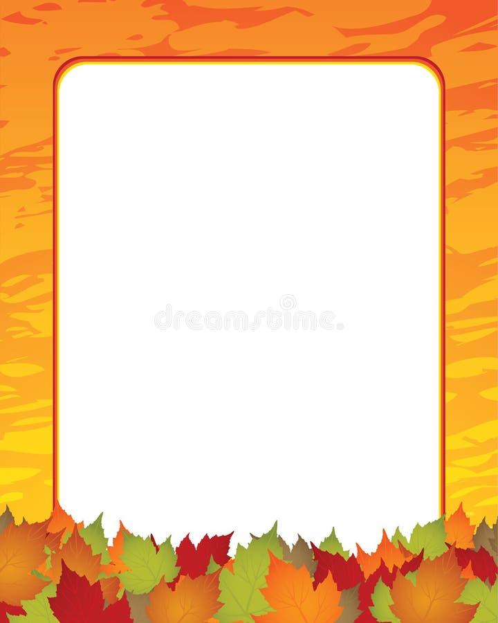 Seasonal background royalty free illustration