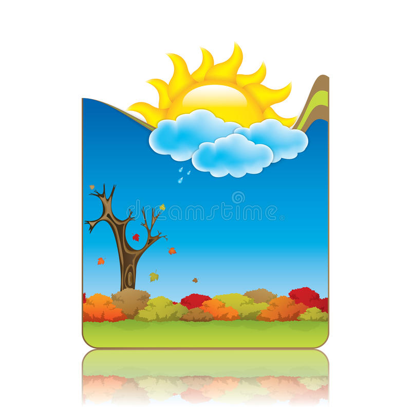 Download Seasonal background stock vector. Image of nature, abstract - 25745308