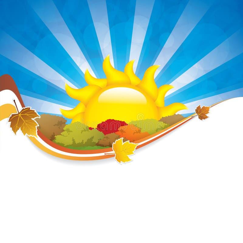 Seasonal background vector illustration