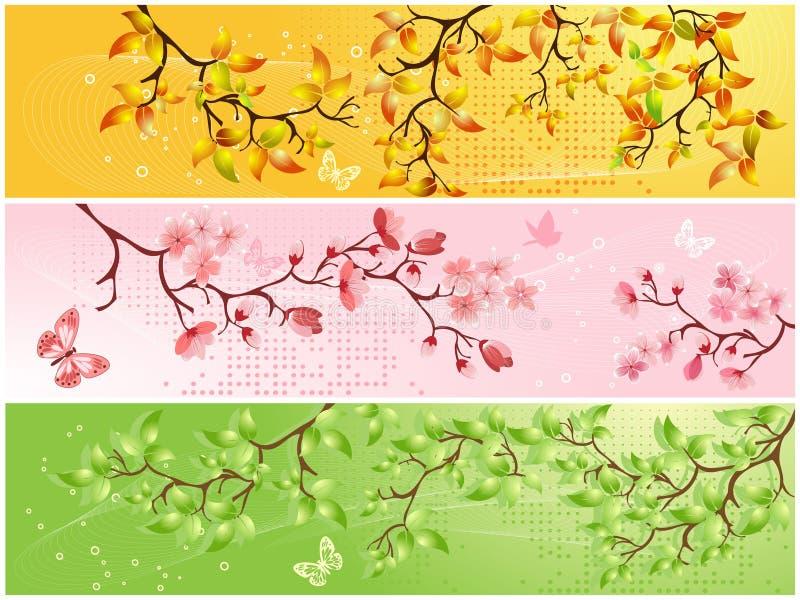Download Seasonal backgrounds stock vector. Image of orange, flower - 13553235