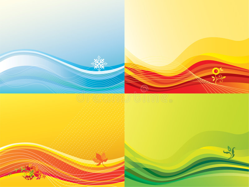 Download Seasonal backgrounds stock vector. Image of illustration - 5181897