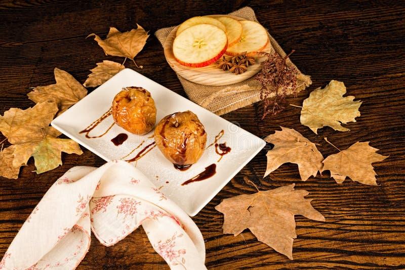 Seasonal dessert stock photography