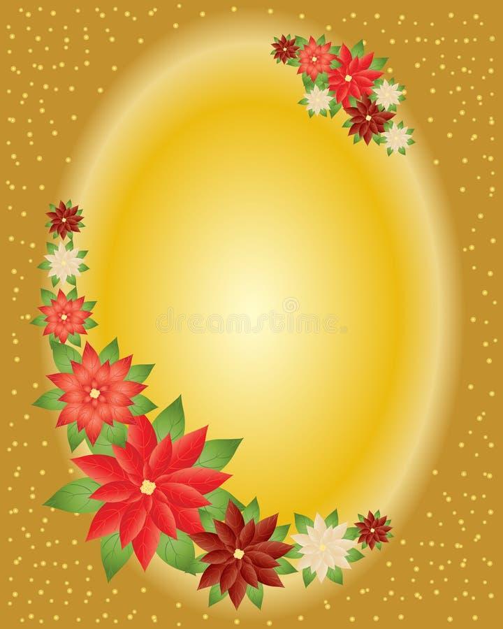 Seasonal flowers stock illustration