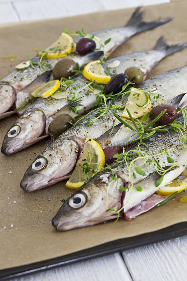 Seasoned Fish Stock Photography