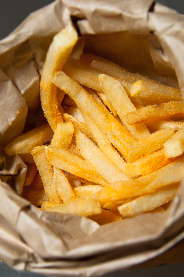 Free Seasoned French Fries Royalty Free Stock Images - 18963549