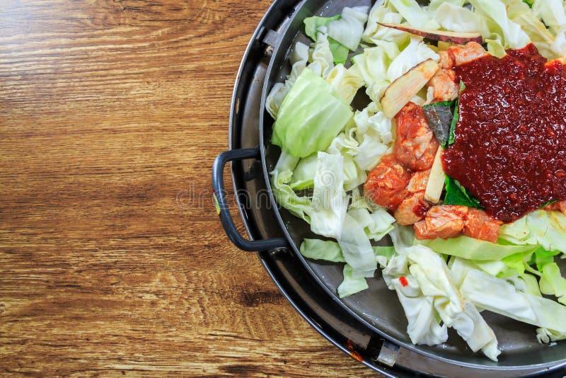 Seasoning of korean food royalty free stock photography