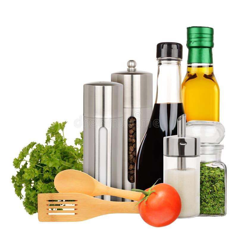 Seasoning stock image