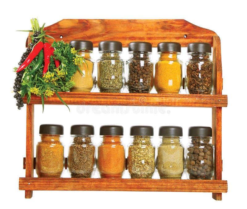 Seasonings stock photos