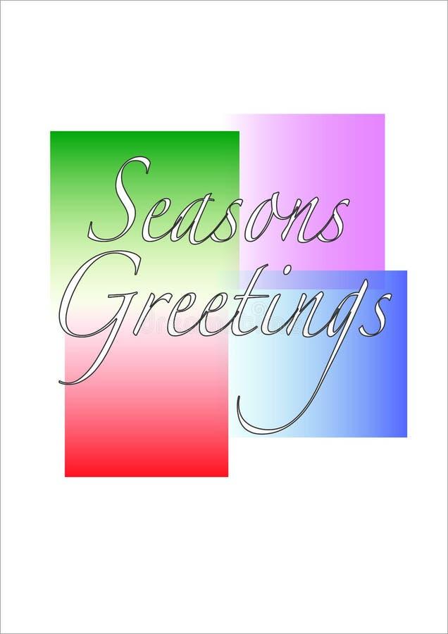 Download Seasons Greetings Illustration Stock Illustration - Image: 6967822
