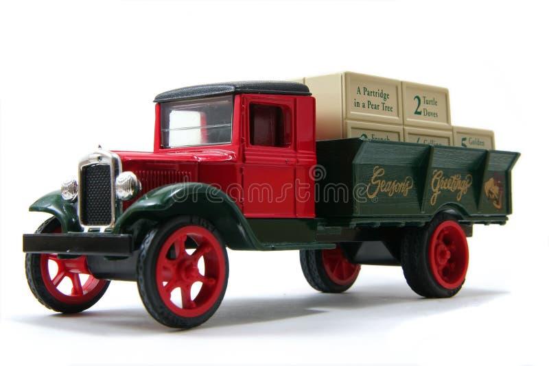 Download Seasons Greetings Truck 2 stock image. Image of truck - 3855025