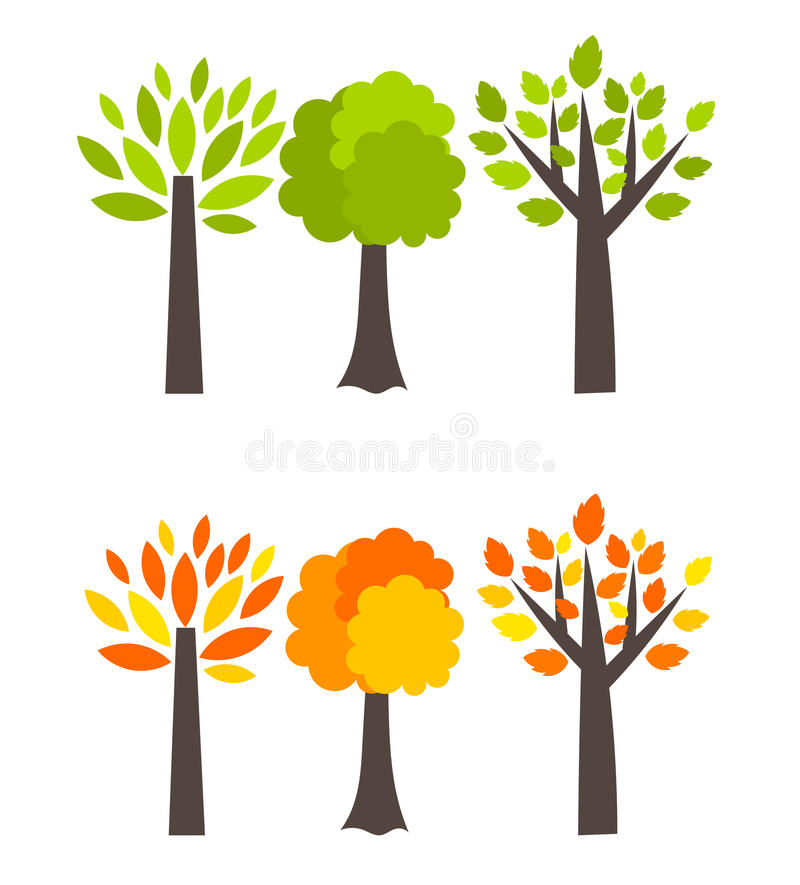 Download Seasons Trees Stock Images - Image: 27049254