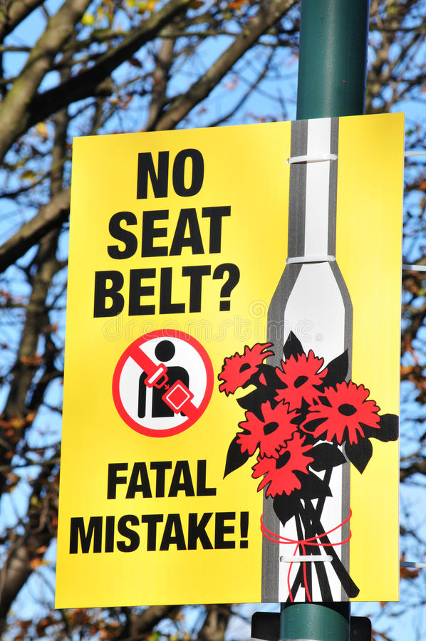 Seat belt royalty free stock photography