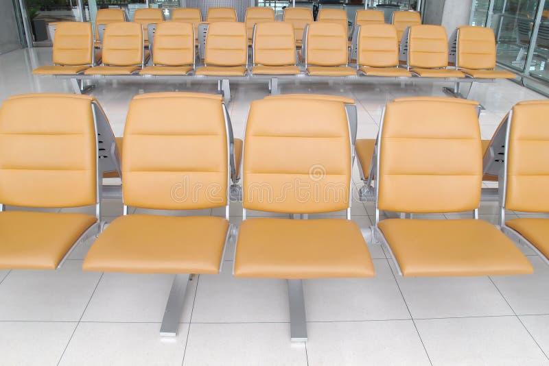 Seat en terminal de aeropuerto fotos de archivo
